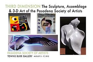 2013 - 3rd Dimension - Sculpture, Assemblage & 3D Art of PSA
