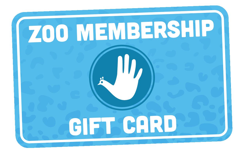 Zoo Membership Gift Card
