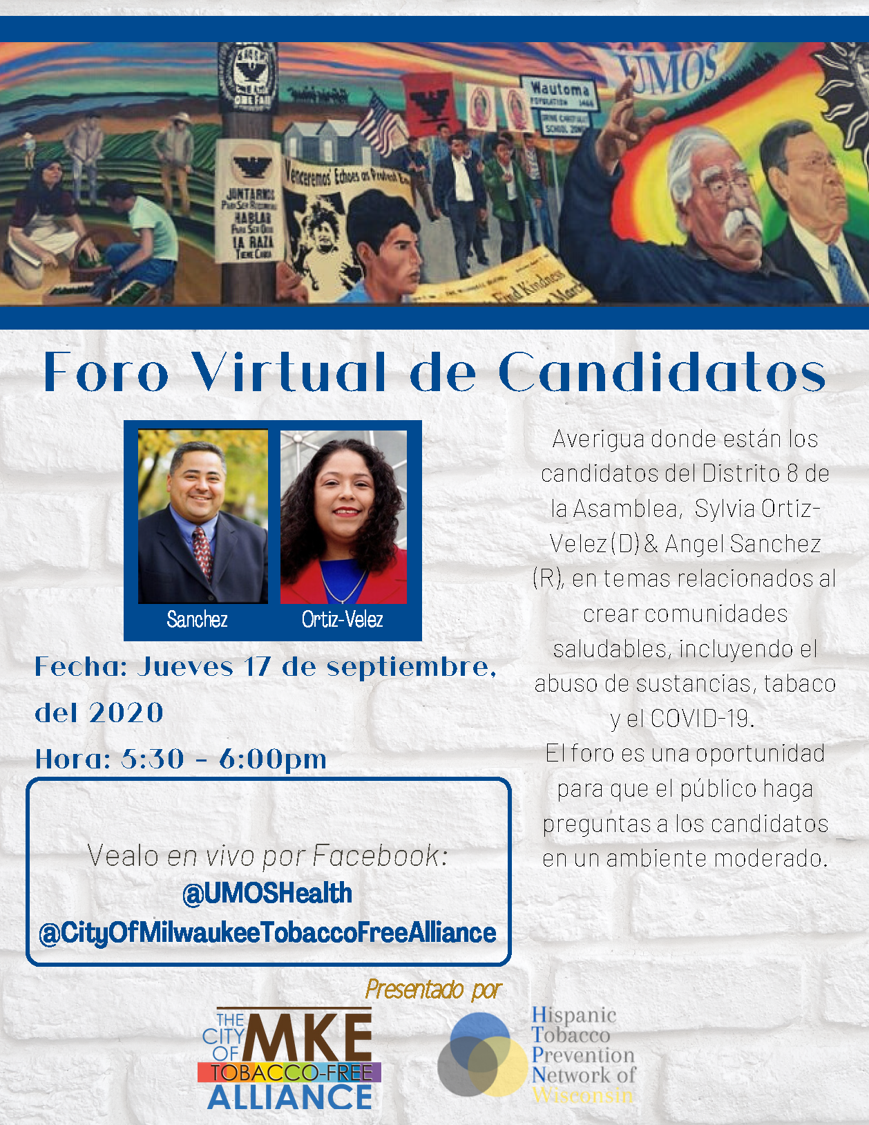 Assembly District 8 Virtual Candidate Forum