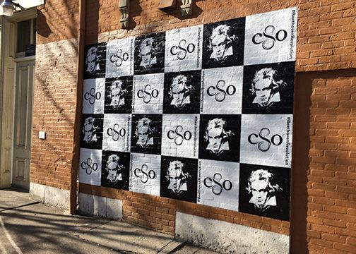 CSO Beethoven Wall Graphics