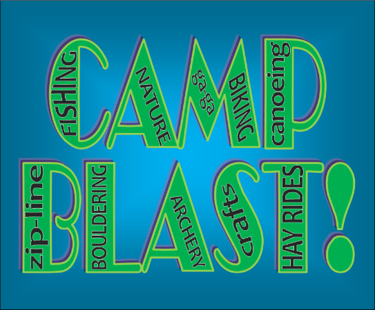 Camp Blast Post Top