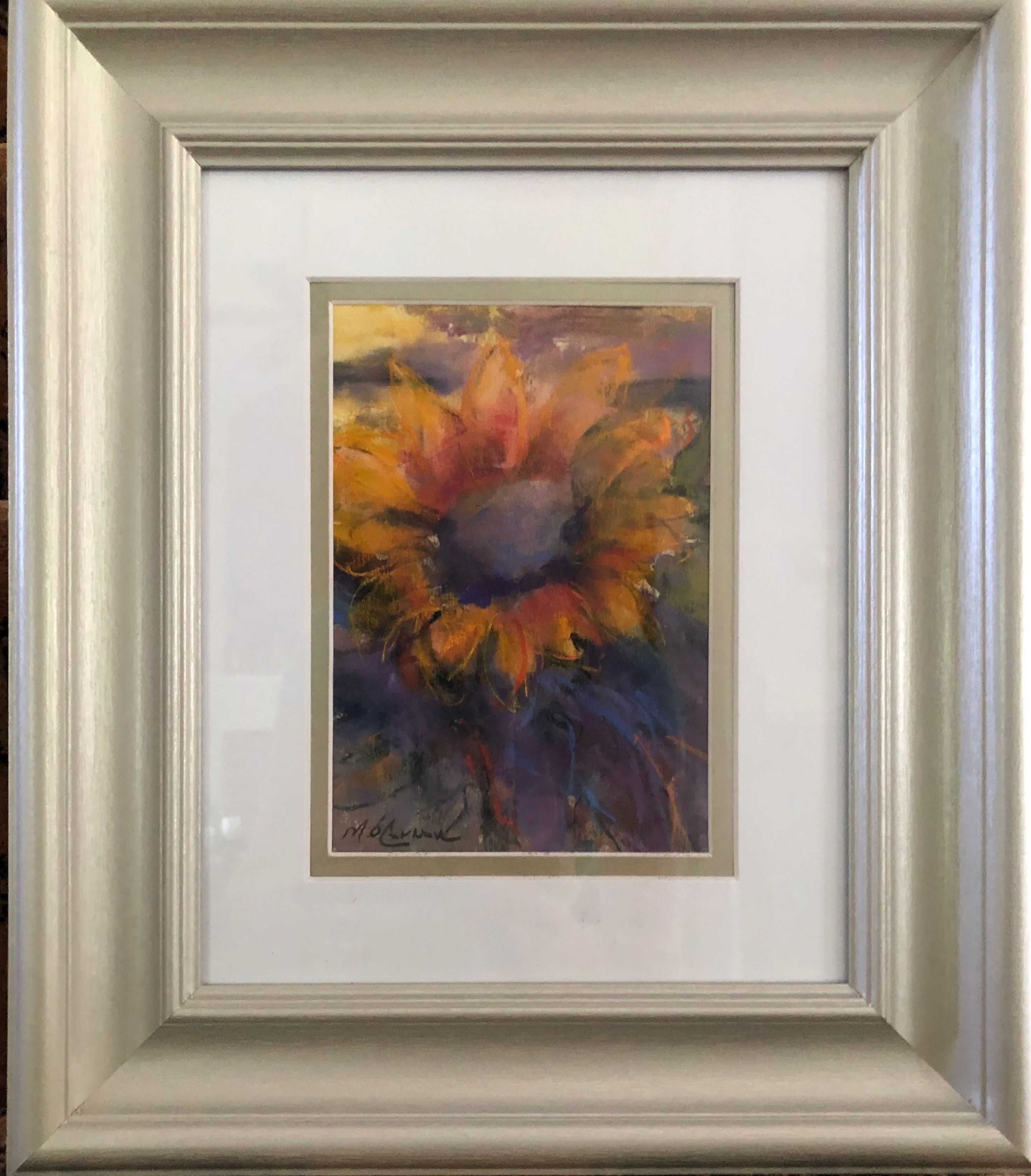 Artist: Mary O'Connor, Pastel on Paper, Framed