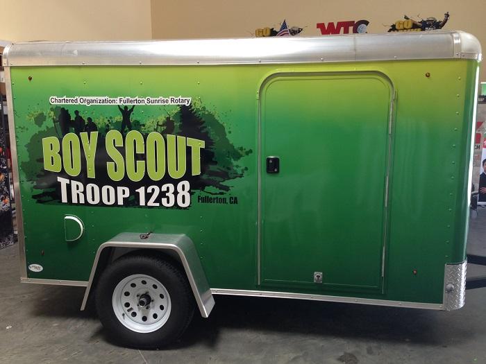 Scout Trailer Wrap