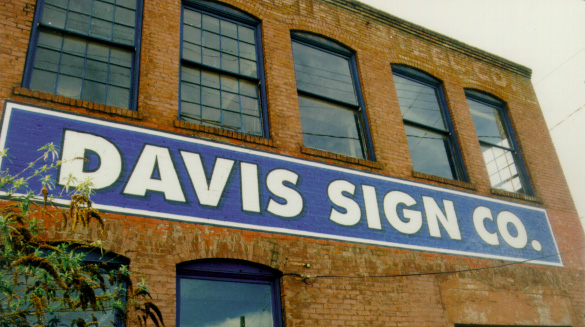 Custom signs in Seattle from Davis Sign Co.