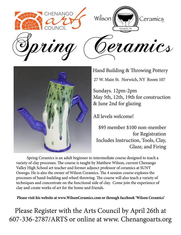 Spring Ceramics
