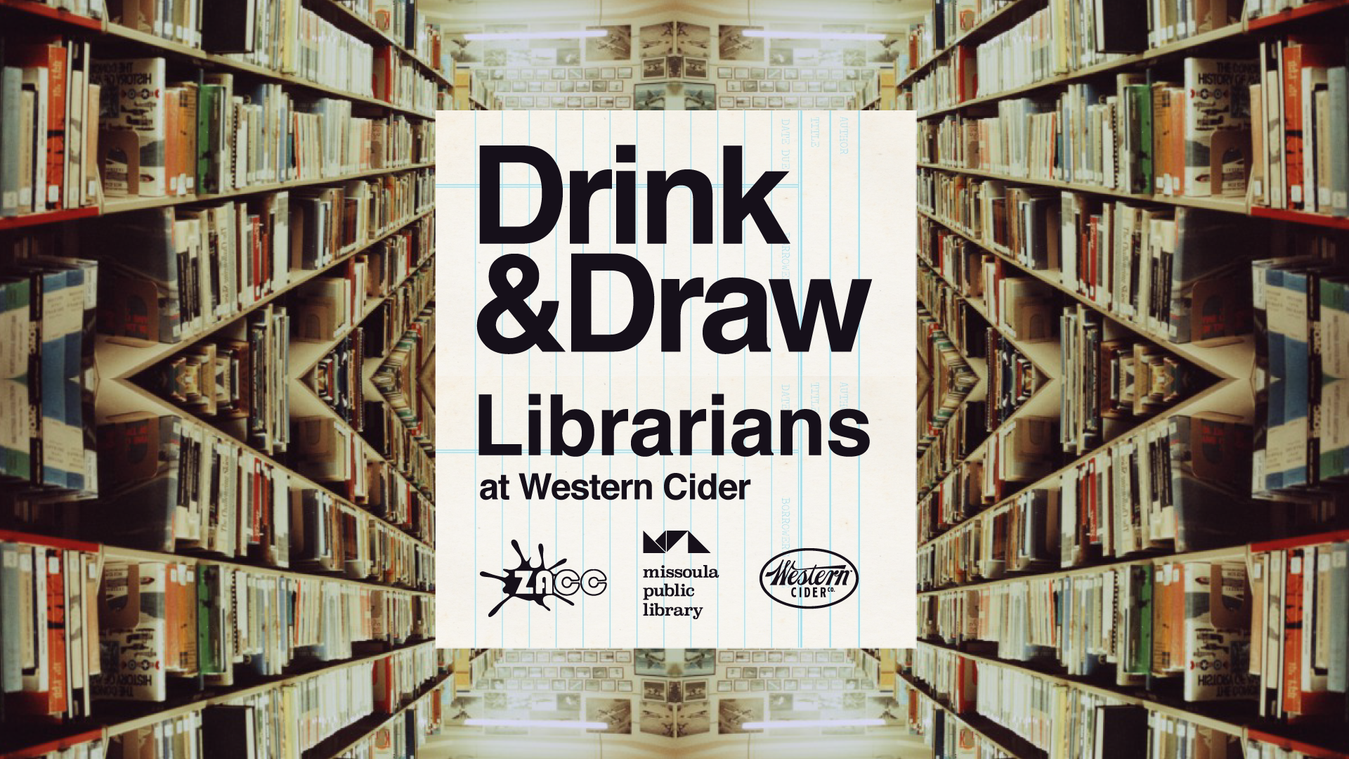 Drink & Draw Librarians with Missoula Public Library