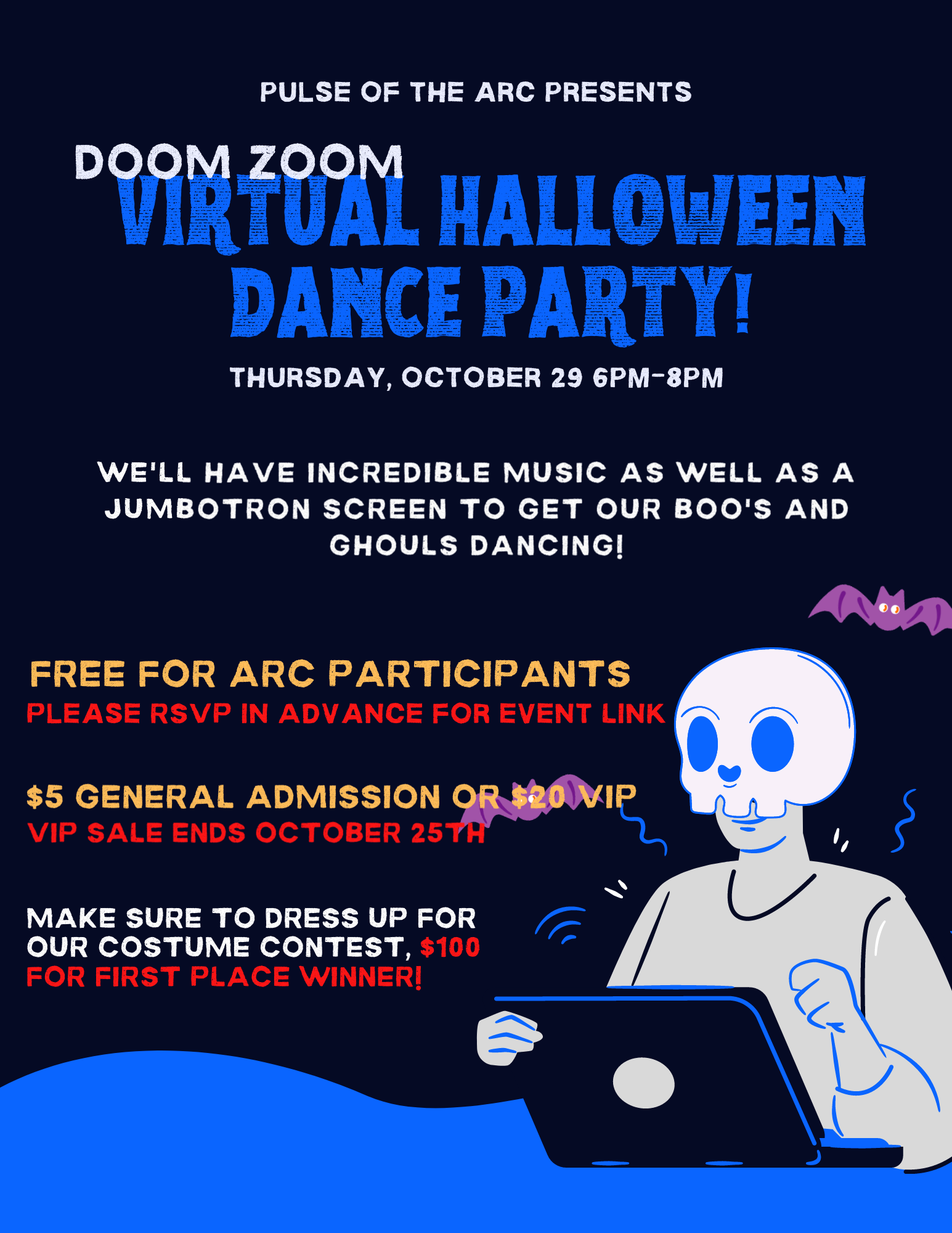Doom Zoom Virtual Dance Party