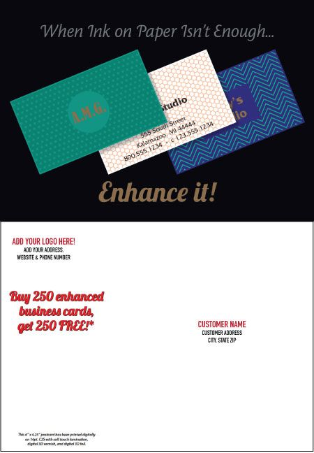 Enhancement Postcard: October 2018