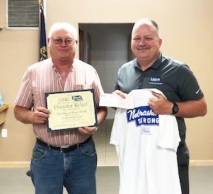 Beaver Crossing awarded $500 in Disaster Relief Funds
