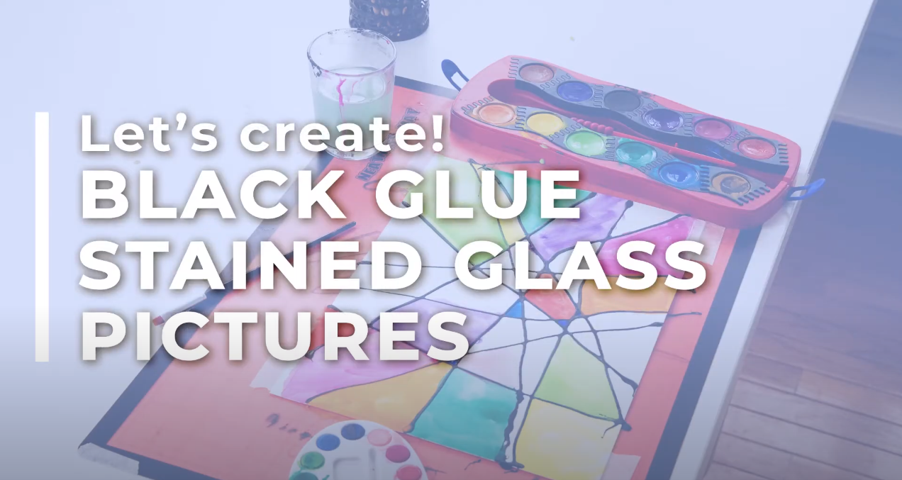 Black Glue Stained Glass