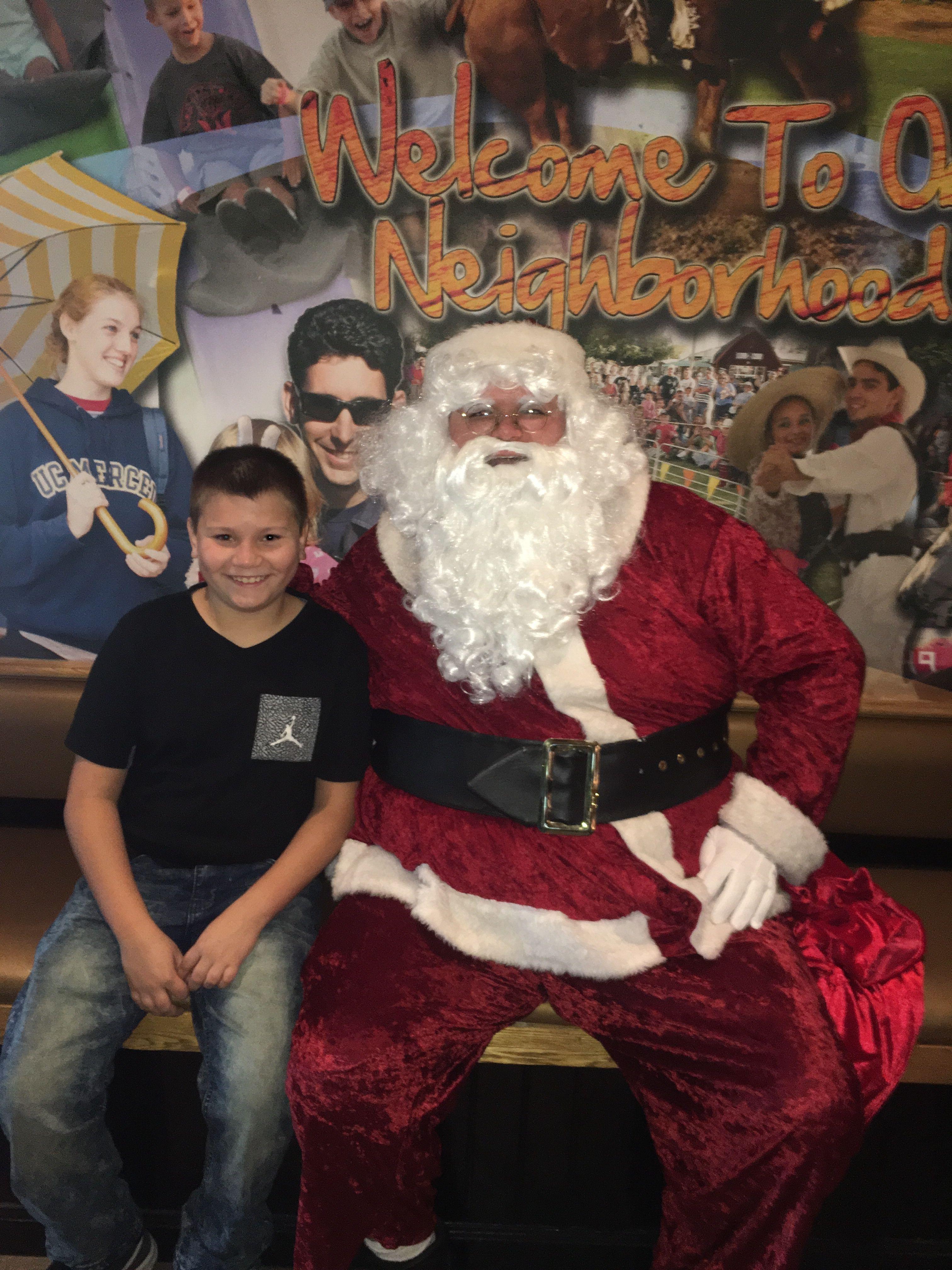 Volunteer & Santa