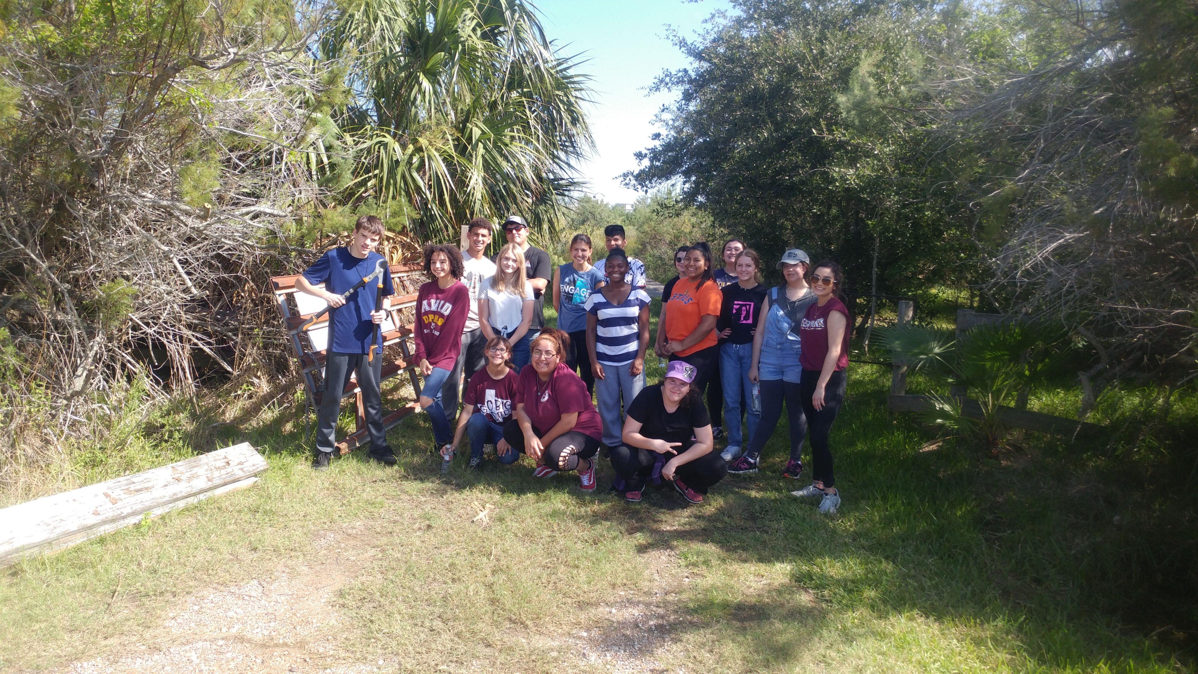 Dos Vacas Muertas - Spring Migration Preparation work party