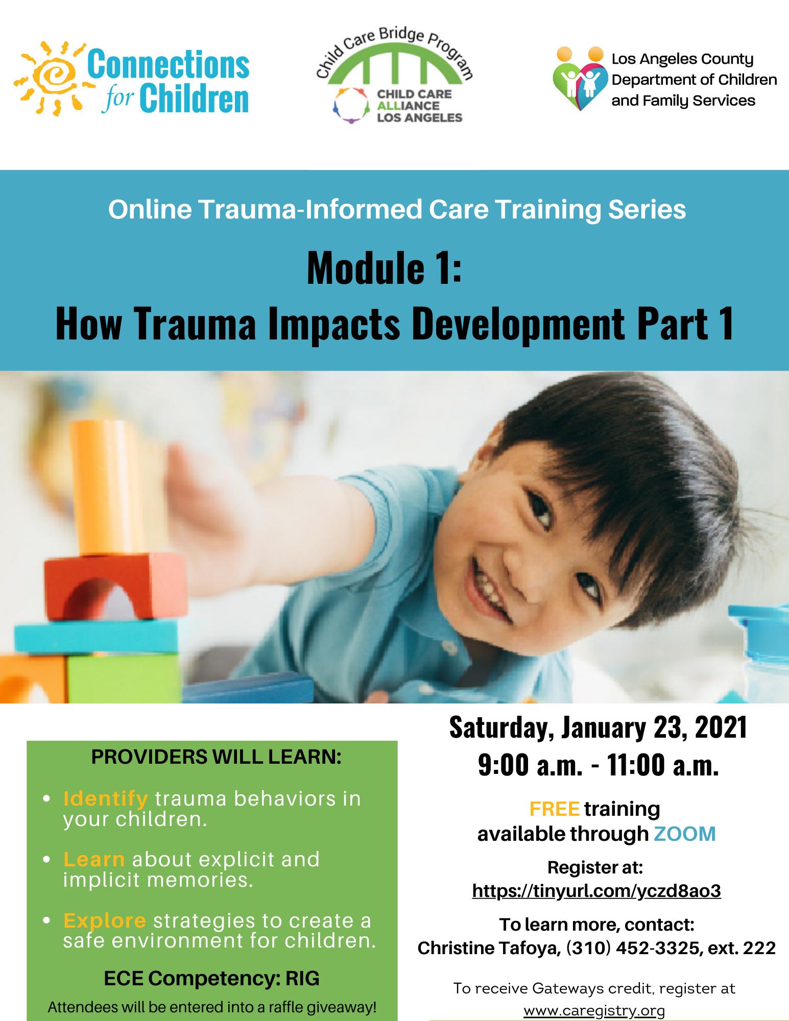 How Trauma Impacts Development, Part 1
