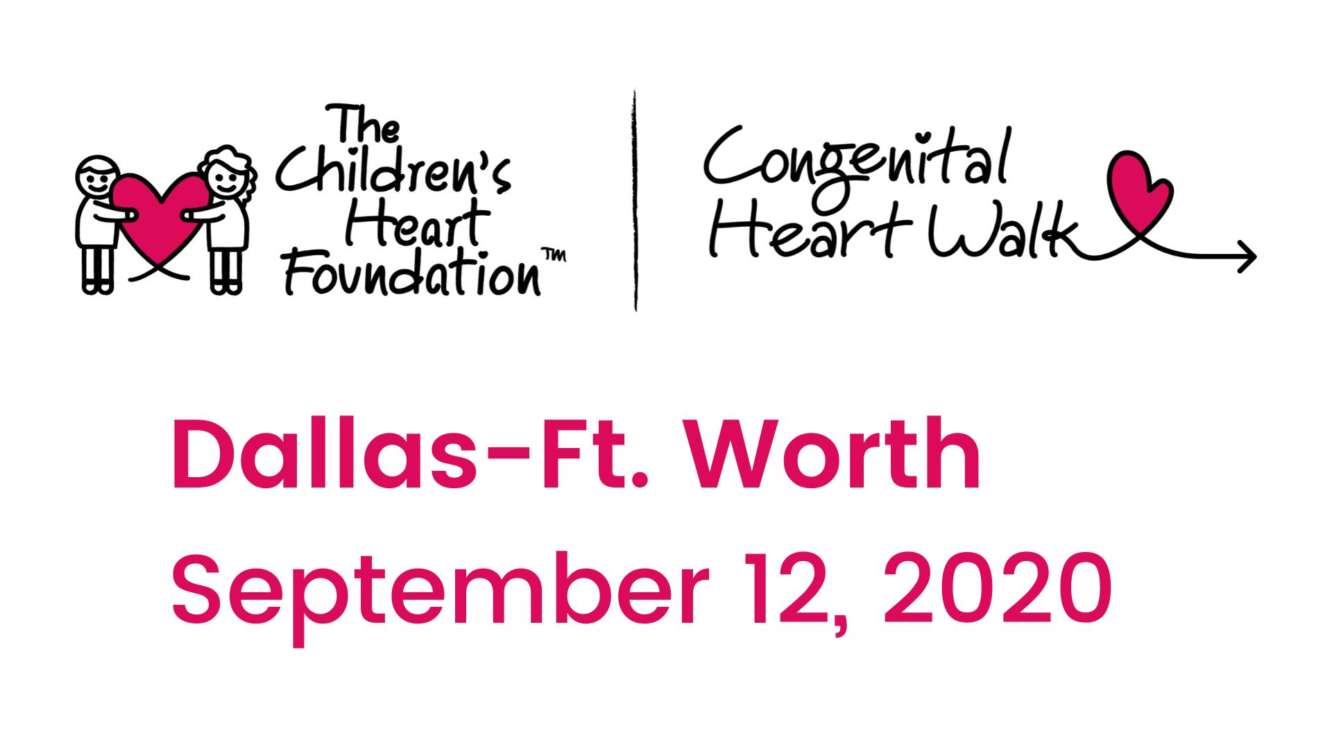 Dallas-Ft. Worth Congenital Heart Walk