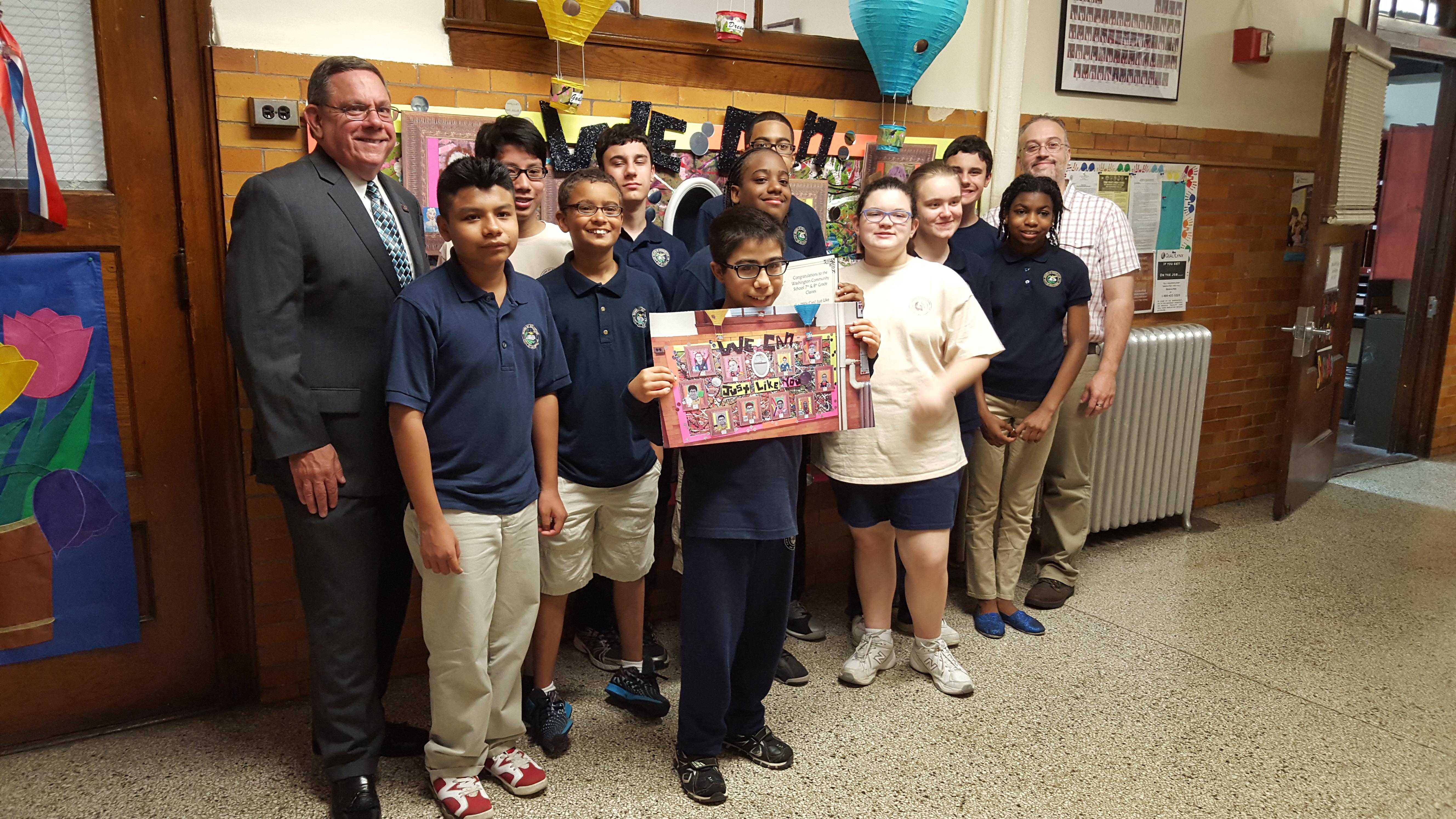 Washington Community School in Bayonne, NJ