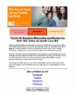 8.3.17 - Protect the Lifeline: Thank New Jersey's US Senators