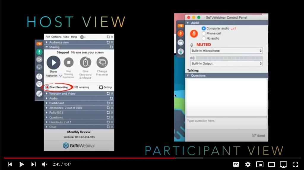 VIDEO TUTORIAL: How to Use GoToWebinar