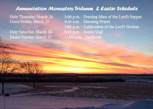 All are Welcome to Attend Holy Week Prayer Services