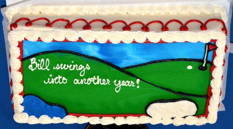 Cake for Bill Saadi's Milestone Birthday!