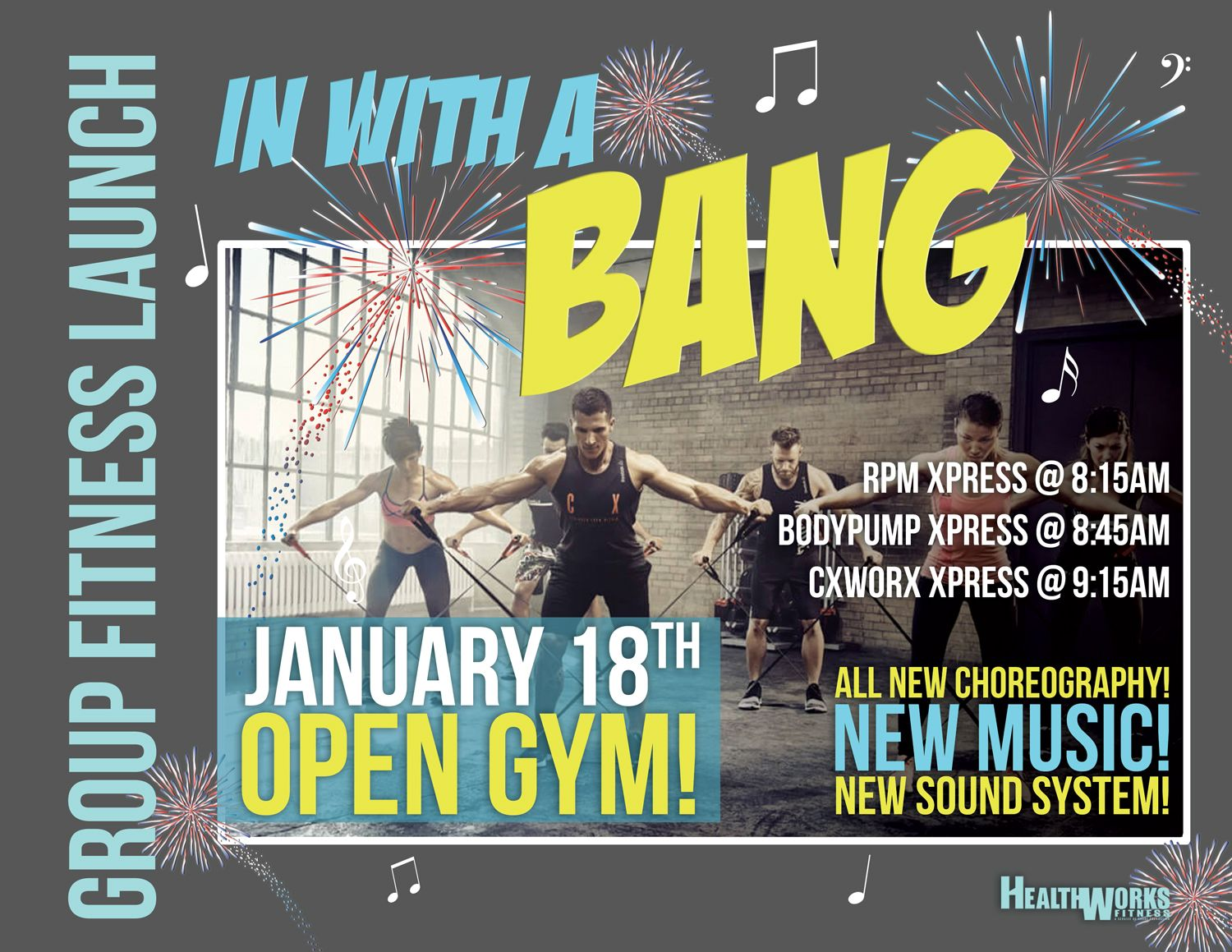 Free Event: Group Fitness Launch & Open Gym