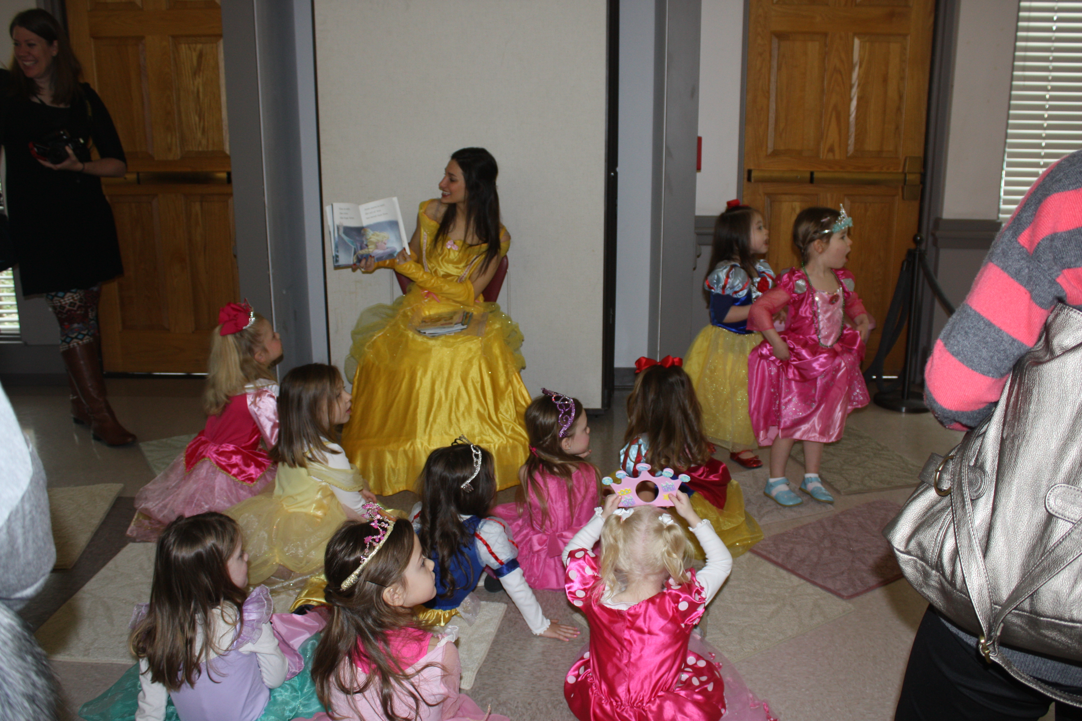 Princess Belle Reading at 2015 Event