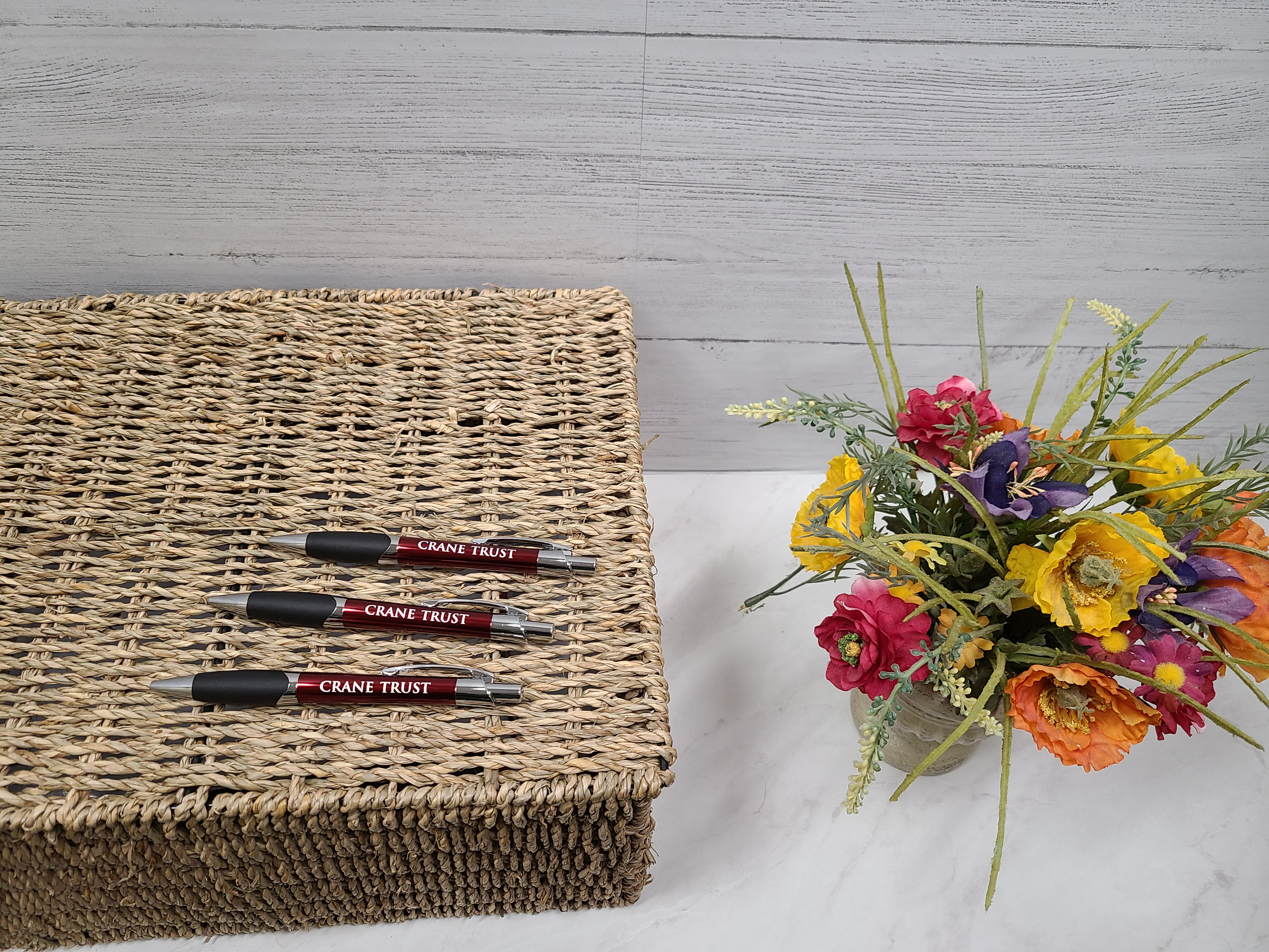 Writing Pen with Crane Trust