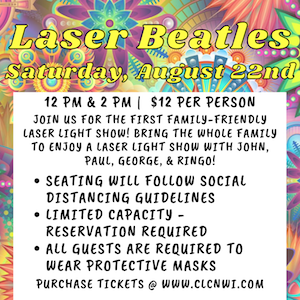 Family-Friendly Laser Beatles Show