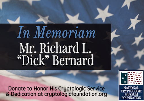 Remembering Dick Bernard