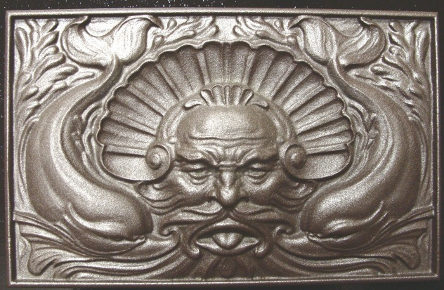 M2320 - 3D Carved Neptune for Seafood Restaurant Sign
