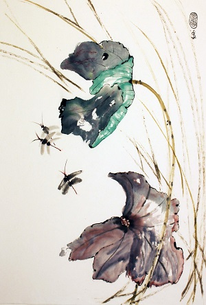 Adult Class: Plein Air & East Asian Brush Painting Methods (Sumi-e)