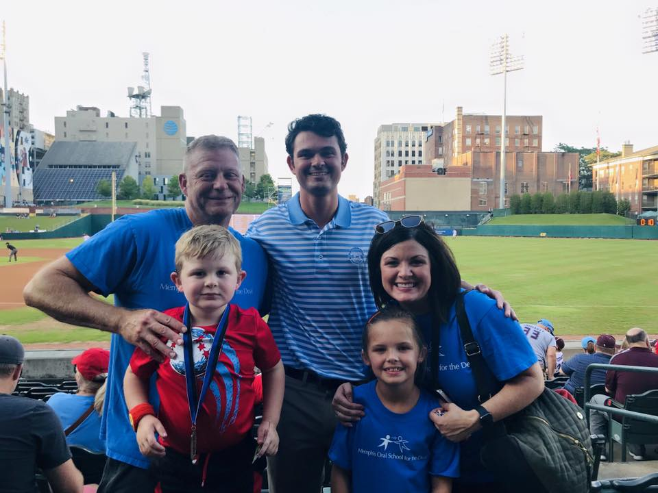 MOSD was Non-Profit of the Game at the Memphis Redbirds Game on August 16th!
