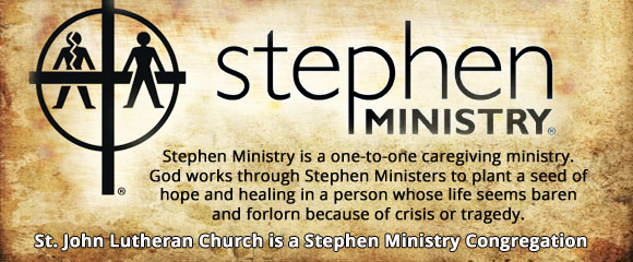 *Stephen Ministry 3