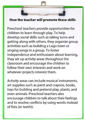 A Sneak Peak at the Year Ahead for Your Preschooler: Social Skills