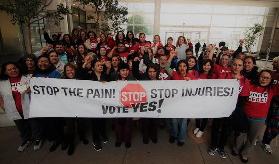 UNITE HERE's Hotel Housekeeper Injury Prevention Campaign