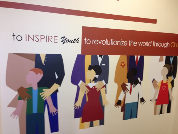 Inspirational wall murals for businesses in Orange County