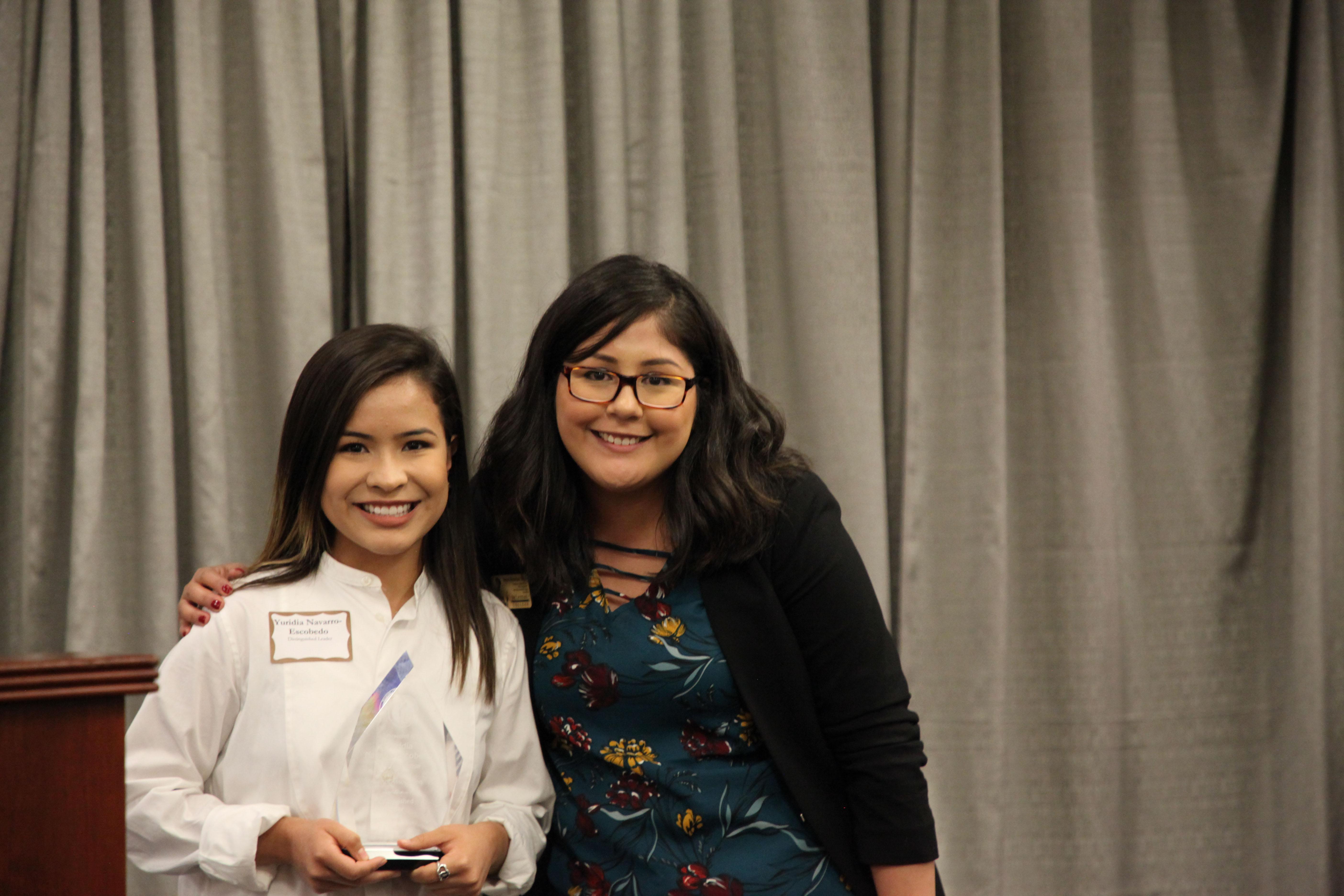 Brazos Scholar Receives MCC Distinguished Leader Award