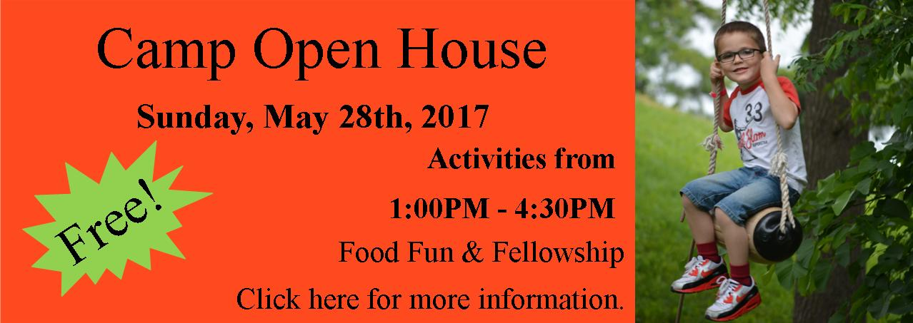 2017 Camp Open House
