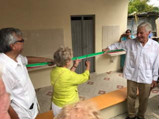 Ribbon cutting for IPC Foundation funded restrooms