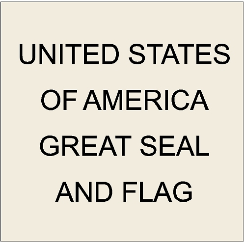 U30009 - Great Seal of The United States Carved 3d Wooden Wall Plaques