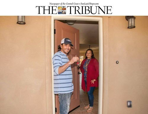 11 Atascadero families get the keys to the dream homes they helped build - The Tribune