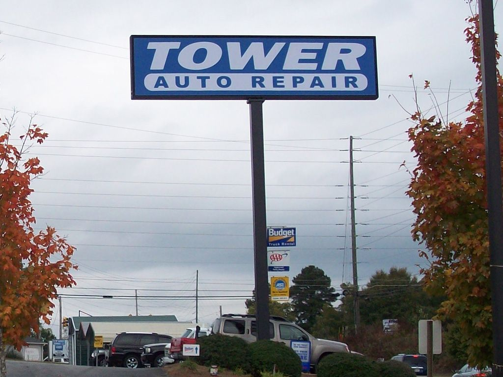 Tower Auto Repair Billboard