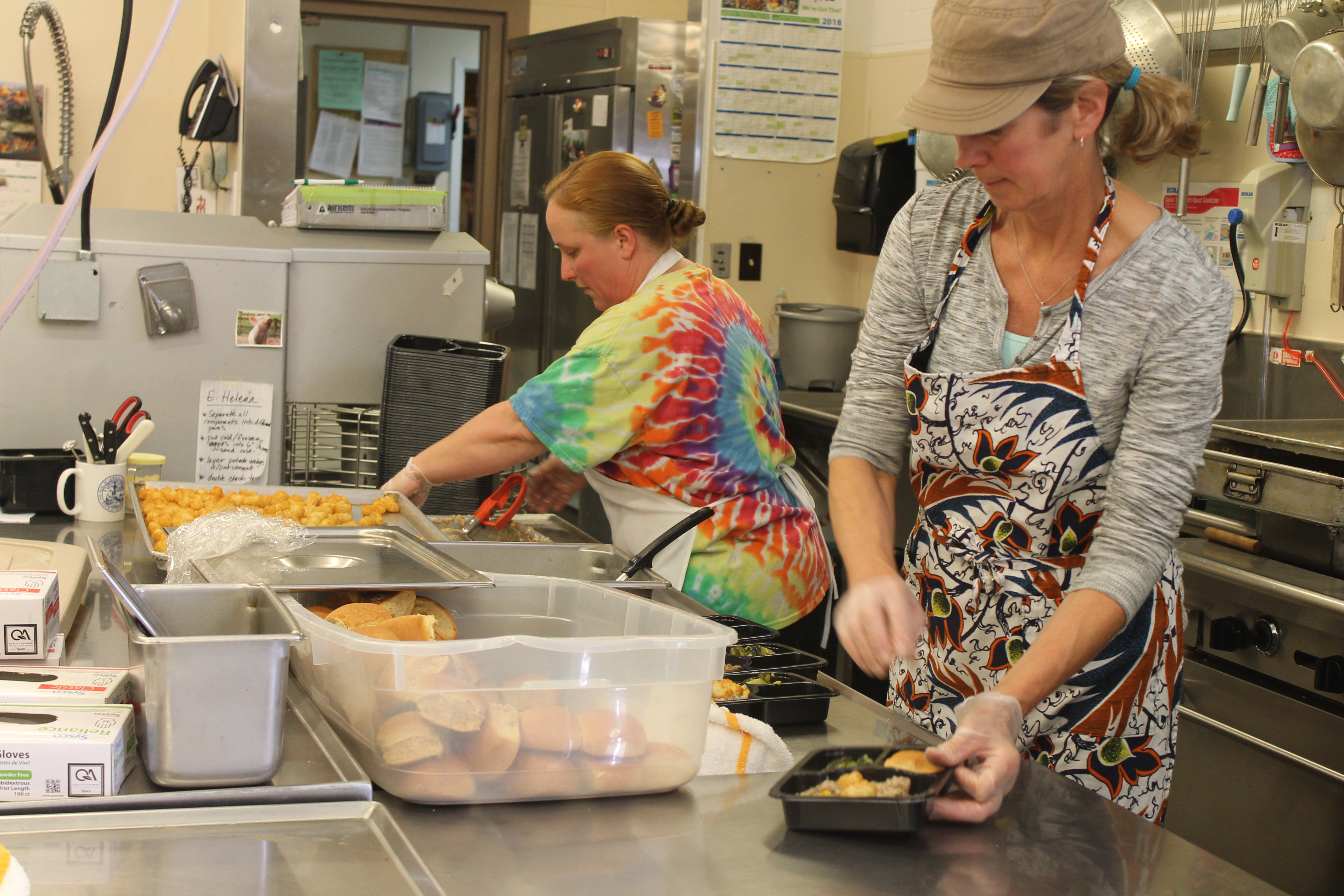 Rocky's Meals On Wheels Program Serve Up Thanksgiving Meals