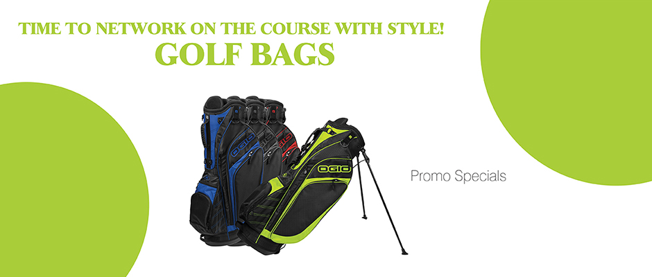 banner golf bag