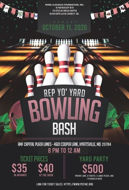 2020 Rep Yo' Yard Bowling Bash