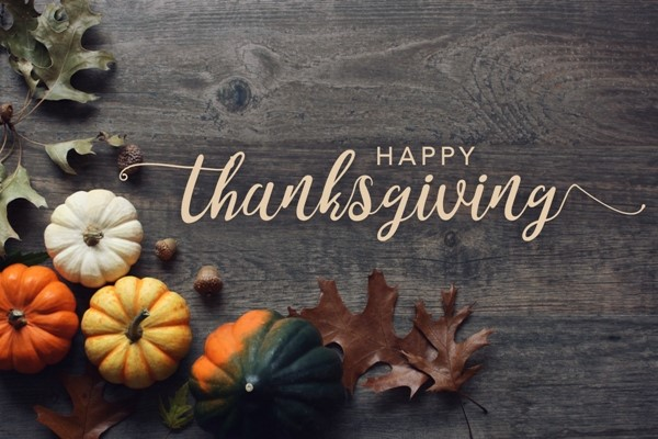 Happy Thankgiving! Our CAS offices are closed Thursday and Friday.