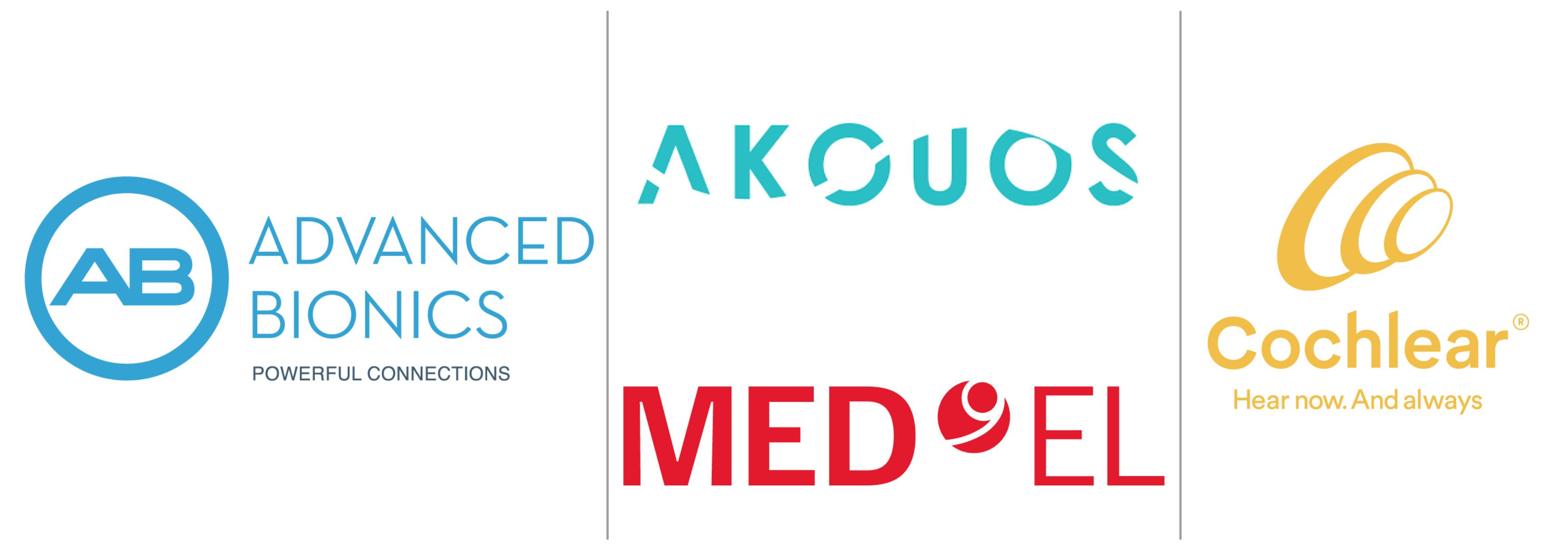 Bronze Sponsors: Advanced Bionics, Akouos, Cochlear Americas, MED-EL