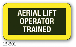 Aerial Lift Operator Trained