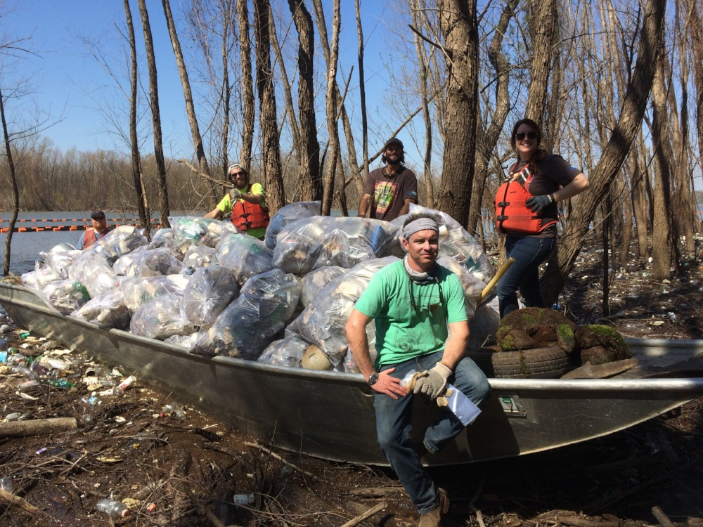 Mississippi River Cleanups
