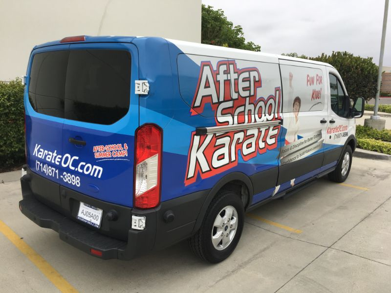 Ford Transit Van Wraps in Fullerton CA