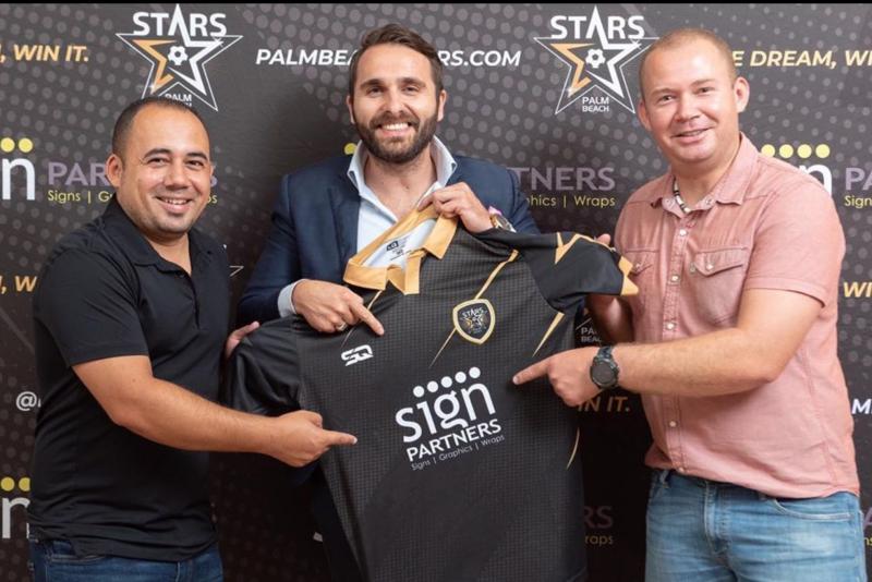 Sign Company Sponsorship Palm Beach Stars - Sign Partners West Palm Beach